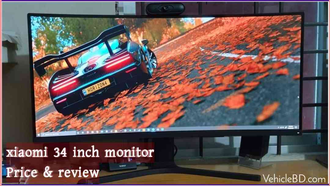 Photo of (mi) Xiaomi curved gaming Monitor 34 Price & Review in Bangladesh