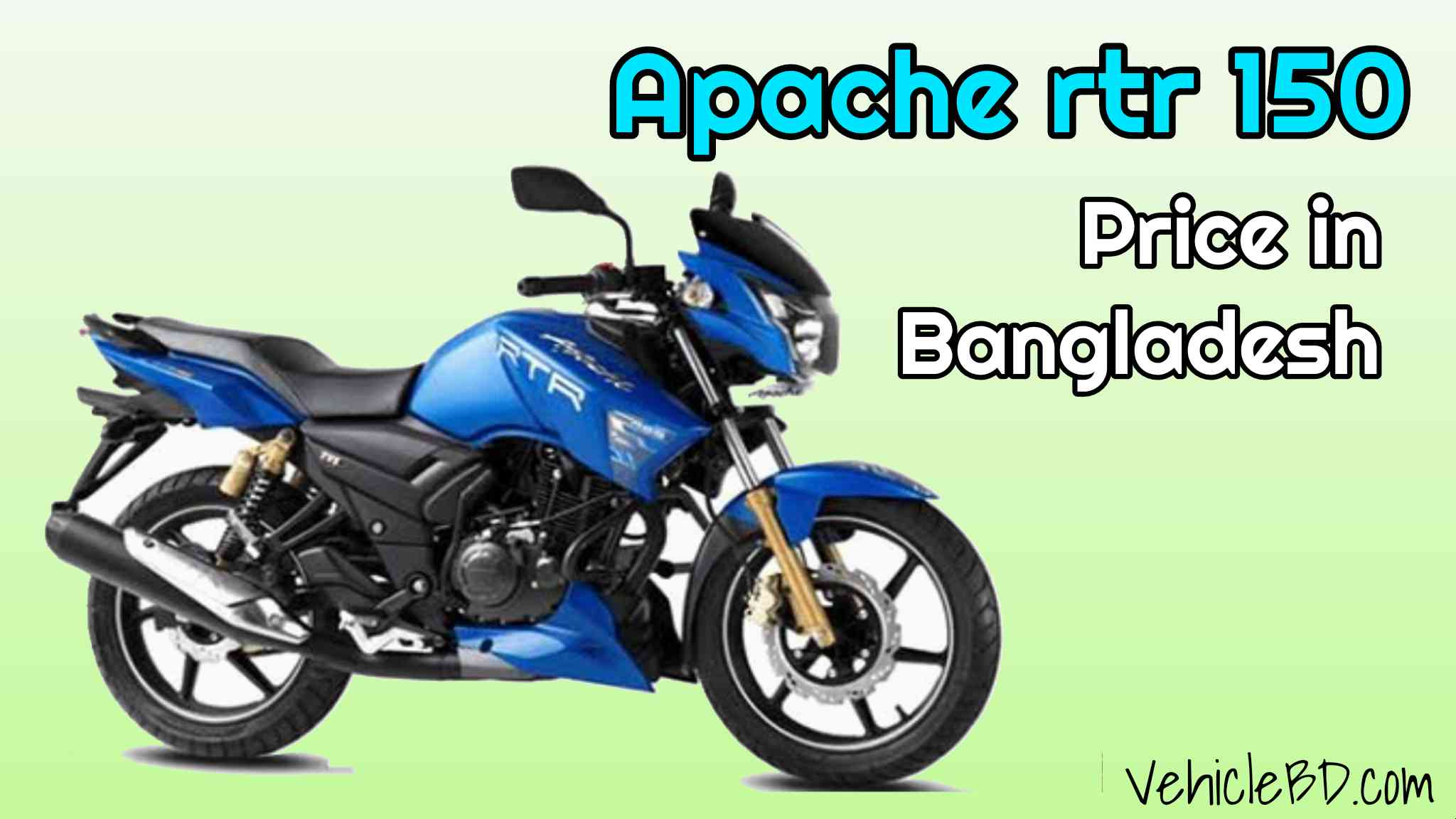 Photo of Apache rtr 150 Price in Bangladesh 2021